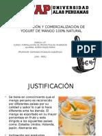 PLAN DE NEGOCIO Yogurt de Mango 100