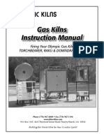 Gas kiln manual