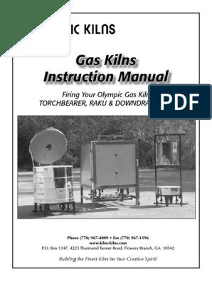 Gas kiln manual | Thermocouple | Chimney