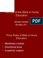 Use of Bible