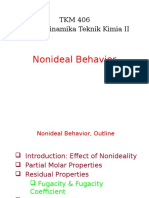 4. Nonideal Behavior