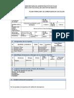 Plan Familiar de Emergencias Escolar COLEGIO ALFONSO LASO BERMEO (1)
