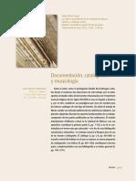 Documentacion Catalogacion y Musicologia
