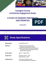 Lexington County Engagement Survey