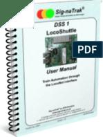 Sig-naTrak® DSS1 LocoShuttle User Manual