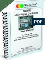 Sig-naTrak® SIGM20 Colour Lights Signal Controller User Manual