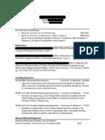 Sample Curriculum Vitae #2