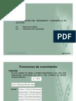Crecimiento y Desarrollo de Cultivos-2014_©Derechos reservados, Fidel M Peña Ramos