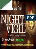 Good News Night Vigil F