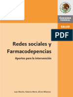 Redes sociales farmacodependencia