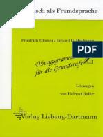 173399291 Losungsheft Zur Ubungsgrammatik Fur Die Grundstufe