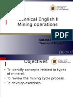 Operaciones Mineras II