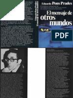 Literatura - Eduardo Pons, El Mensaje de Otros Mundos