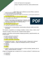 Exercícios de Figuras de Linguagem PROFESSOR