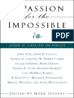 M. Dooley (ed.), A Passion for the Impossible. John D. Caputo in Focus