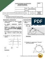 Examen Mensual (II Bimestre) 4TO