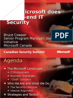 !How Microsoft Does IT Security