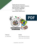 INFORME 2 Analizar Objetivamente El Documento Redactado Por El Secretario de La OEA