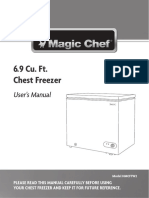 Magic Chef Freezer