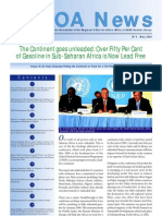 Regional Office for Africa Newsletter, May 2004 ~ United Nations Environment Programme