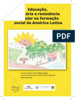 Educaçao, Memória e Resistencia Popular Na Formaçao Social Da AL