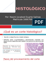 Corte Histologico Ev6 Ati - Sin Video