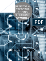 Capacitor and Resistor Coding, Electronic Symbols