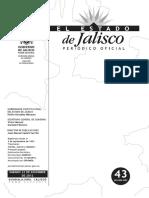 Ley Ingresos Estado Jalisco Ejercicio Fiscal 2013[1]