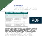 Rheumatic Fever Prevention