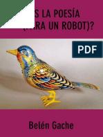 Qué Es La Poesía Para Un Robot