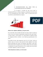 Articulo de Recomendaciones Del Gaes Para Las Empresas