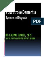 Stroke and Dementia Dr. Junaidi, Sp Edit