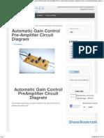 Automatic Gain Control Pre-Amplifier Circuit Diagram _ Electronic Circuits.pdf