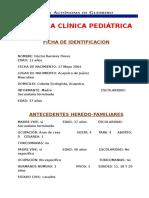 Historia Clínica Pediátrica Prope