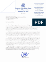 Letter to Chairman Chaffetz