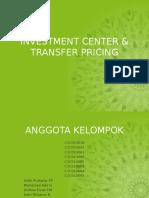 Investment Center & Transfer Pricing Hansen Mowen