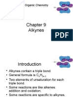 Hidrocarbon Alkynes and Reactions