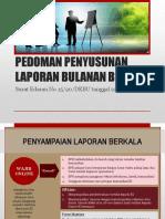 Pedoman Penyusunan Laporan Bulanan BPR