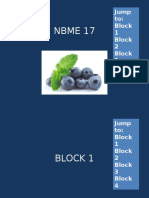 NBME 17 BLOCK 1-4 (No Answers).pptx