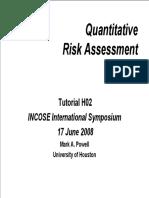 Tutorial 415, Quantitative Risk Assessment - Powellprnta