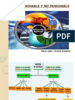 Diapositivas Energía Renovable y No Renovable
