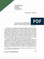 A Propósito de Defensa de La Constitución y Partidos Políticos, De Ignacio de Otto (Francisco Bastida)