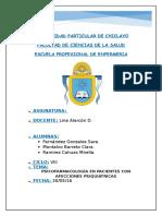Farmacología EN AFECCIONES PSIQUIÁTRICAS