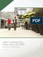CVD VideoConferencingUsingBE6000 Feb14