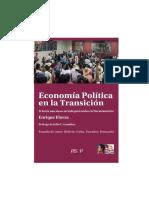 La Economía Política en La Transición. Enrique Elorza-Fisyp
