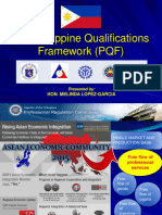 Philippine Qualification Framework- ASEAN Qualification Framework for Global Competitiveness