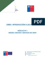 Modulo 1-Mision Funcion y Servicios Del INAPI