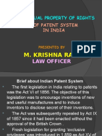 Evolution of Patent System in India
