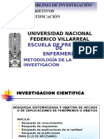 El Problema de Investigación, Objetiovs y justificación.pptx
