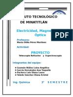 reporte proyecto telescopio refractor y espectroscopiOo.docx